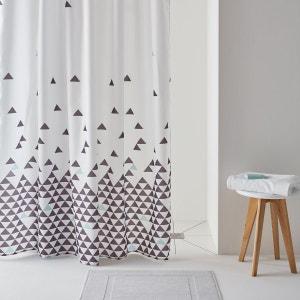 Rideau de douche, FLY, imprimé triangles. La Redoute Interieurs