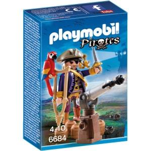 Capitaine pirate avec canon - PLA6684 PLAYMOBIL