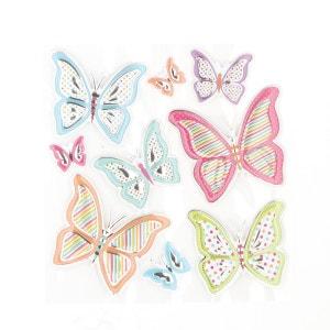 Sticker Relief - 30 x 30 cm - Papillon ATMOSPHERA