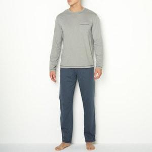 Pijama de punto de algodón La Redoute Collections