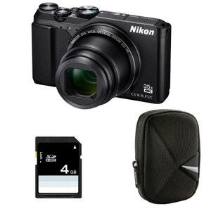 Compact Coolpix A900 NOIR + Etui + Carte SD 4 Go NIKON