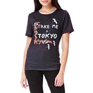 T-shirt estampada YUMI