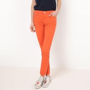 Pantalon 5 poches, coupe slim R essentiel