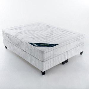 Matras met pocketveren, luxe comfort op 7 zones, met geïntegreerde topdekmatras REVERIE PREMIUM