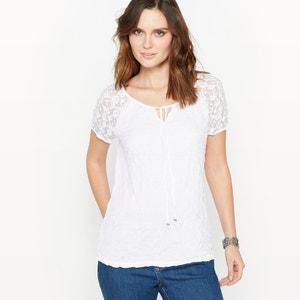 T-shirt, jersey froissé ANNE WEYBURN