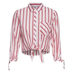 Chemise courte, manches longues nouées ONLY