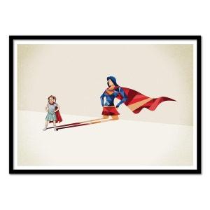 Affiche art 50x70 Wonderwoman Dream WALL EDITIONS