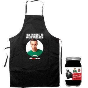 Big Bang Theory - Pack Tablier et Gant Sheldon Immune SD TOYS