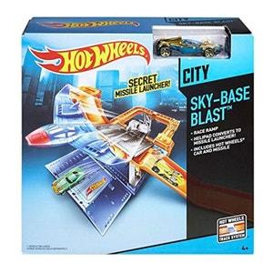 Mattel CDM29 Hot Wheels - Sky-Base Blast - la base secrète de lancement de missiles MATTEL