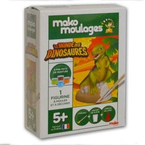 Moulage en plâtre Mako Moulages : Le Monde Des Dinosaures MAKO CREATIONS