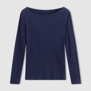 Camiseta de canalé fino R essentiel