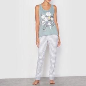 Pyjama SNOOPY, reine Baumwolle SNOOPY