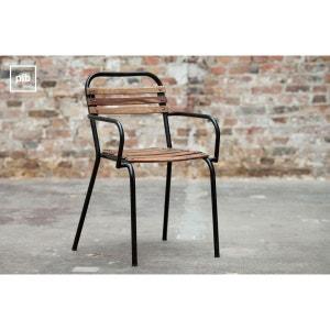 chaise industrielle la redoute. Black Bedroom Furniture Sets. Home Design Ideas