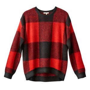 Trui in fijn tricot met ronde hals BEST MOUNTAIN