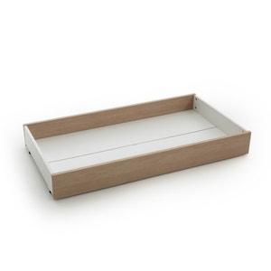 Cajón bajo cama ARCHIPEL, blanco/roble