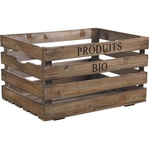 Caisse en bois Produits bio AUBRY GASPARD