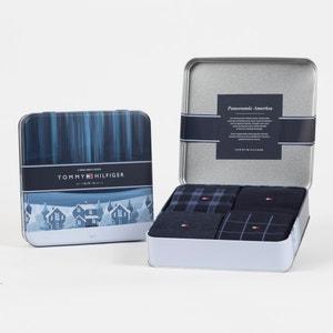 4er-Pack Socken in der Geschenkbox TOMMY HILFIGER