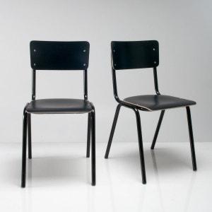 Chaise d'écolier (lot de 2), HIBA La Redoute Interieurs
