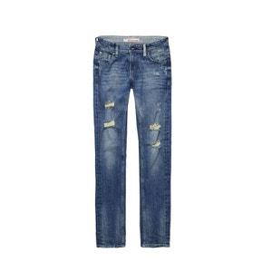 Jeans MARLON JR - Existe en Vintage Destroy et Vintage/Indigo TEDDY SMITH