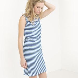 Gestreepte korte jurk R essentiel