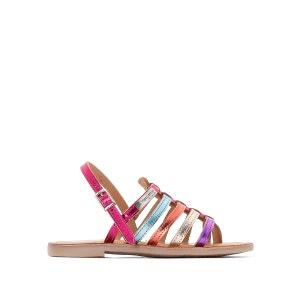Sandales cuir plates Hérisson LES TROPEZIENNES par M BELARBI