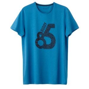 T-shirt col rond imprimé 100% coton R édition