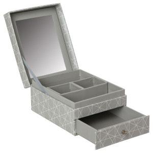 Boîte à bijoux nature Scandi - Gris ATMOSPHERA