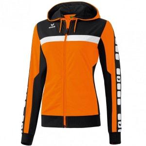 Veste d'entraînement à capuche 5-CUBES Femme Running Trail Erima ERIMA