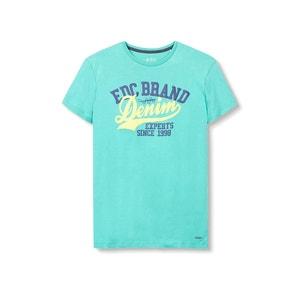 Camiseta con motivo estampado ESPRIT