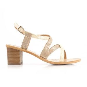Sandalen mit Absatz Valouna MELLOW YELLOW