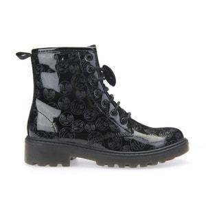 Gelakte boots J Casey GK GEOX