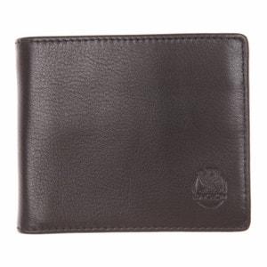 Portefeuille européen ultra plat à 2 volets L'aiglon 22 cartes en cuir grainé noir kA8ApuRa
