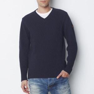 Sweter z dekoltem V, Pl Milford 5 SCHOTT