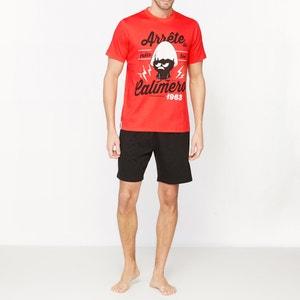 Pijama curto estampado CALIMERO