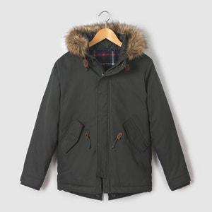 Parka con capucha 10-16 años La Redoute Collections