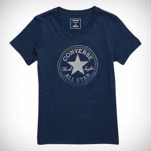 T-shirt zuiver katoen CLEAR FOIL CHUCK PATCH CREW TEE CONVERSE