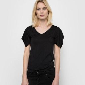 T-shirt fina de manas curtas R studio