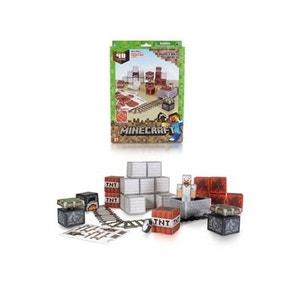 Minecraft - Set 48 modèles Papercraft Minecart JAZWARES
