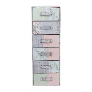 Commode haute Patchwork Powder Kare Design KARE DESIGN