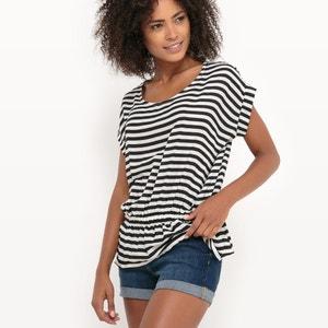 Gestreepte blouse met elastische taille MOLLY BRACKEN
