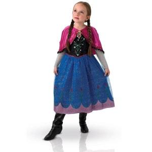 Déguisement La Reine des Neiges (Frozen) : Anna Light : 5/6 ans RUBIE S
