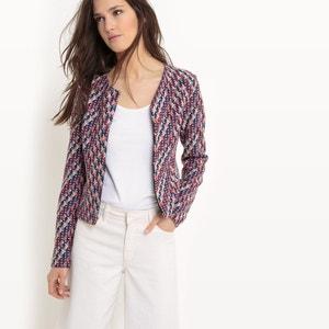 Long-Sleeved Jacquard Jacket TOM TAILOR