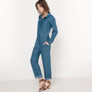 Combinaison pantalon en jean La Redoute Collections