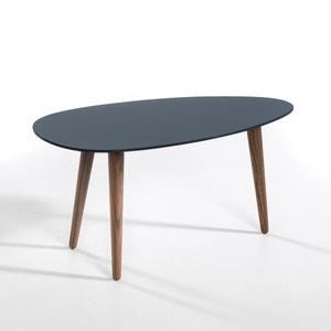 Mesa de centro lacada/nogueira, comp. 70 cm, Flashback AM.PM.
