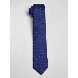 Cravate homme à mini motifs bicolores CYRILLUS