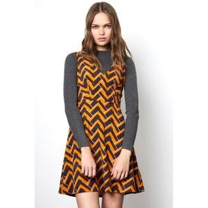 Korte jurk zonder mouwen COMPANIA FANTASTICA