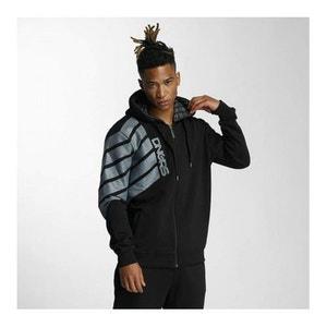 Sweatshirt Zip Capuche Dangerous DNGRS Statement Noir DEFANZY