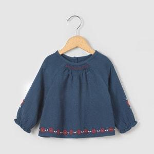 Blusa bordada 1 mês-3 anos R mini