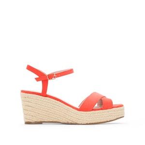 Sandálias de cunha em corda R essentiel