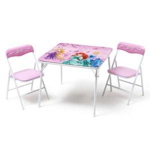 DELTA L'ensemble table + chaises Disney